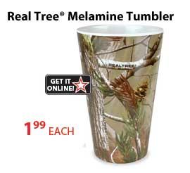 Melamine Realtree Tumbler