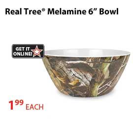 Shop Melamine Realtree Camo Bowls
