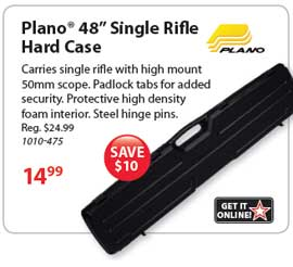 Get your Plano Rifle Case!