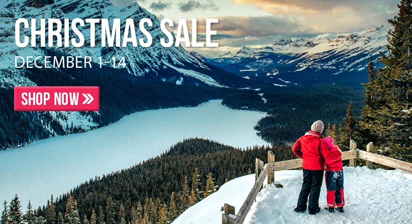 Shop and save during the 2019 Christmas sale! Sale runs Dec. 1 thru 14.