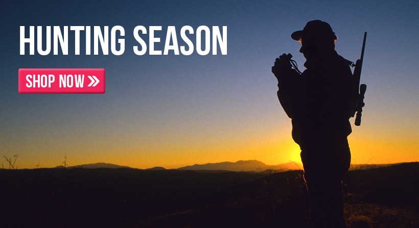 Shop for great hunting equipment all season long!