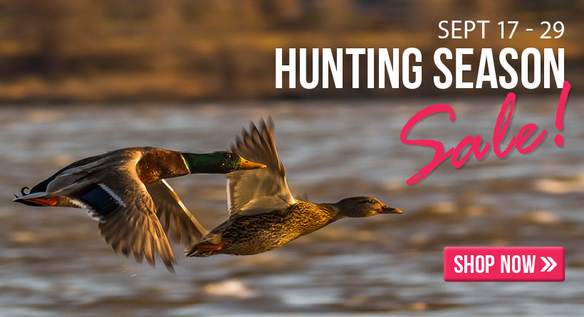 Shop our annual Hunting and Outdoors Sale right here!