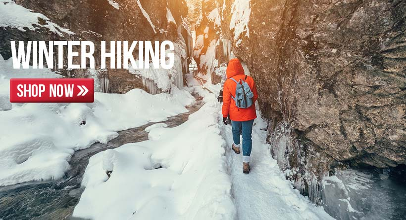 Get ready to hit the trails when the weather breaks with our great selection of camping and hiking gear!