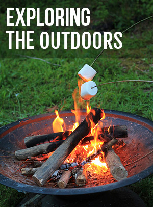 Outdoor cooking, living, playing, and fishing gear