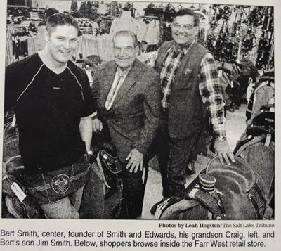 Bert Smith, Jim Smith, and Craig Smith