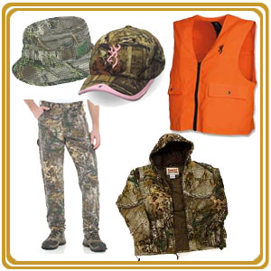 Buy camo clothing and hunting vests