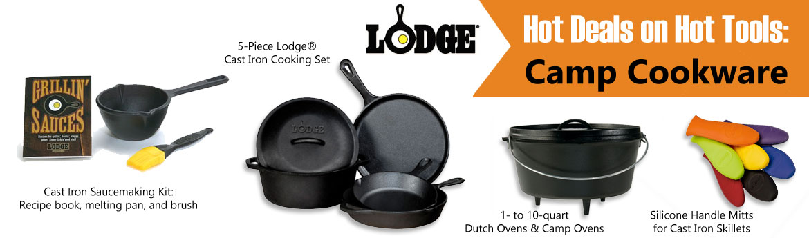 Get your camp cookware at Smith and Edwards!