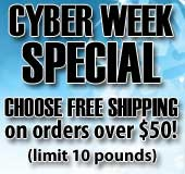 Get Cyber Week Savings and FREE Shipping!!