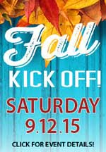 Saturday, September 12 at Smith & Edwards: FALL KICKOFF! The ULTIMATE fall event for big game or duck hunters, come sample food, learn calls, & get tips - even kids' events!