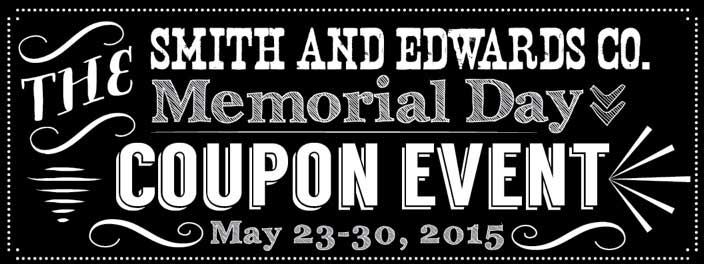 Memorial Day Coupon Event