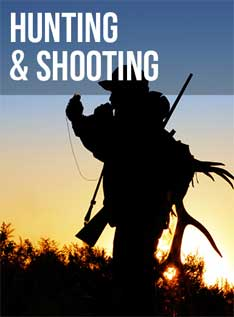 Hunting and shooting supplies at Smith & Edwards