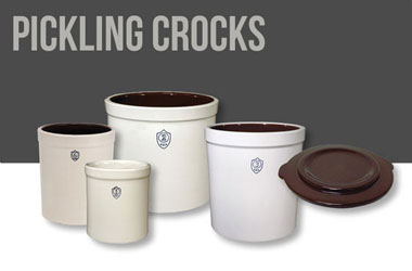 Shop Pickling Crocks, Lids, & Weights