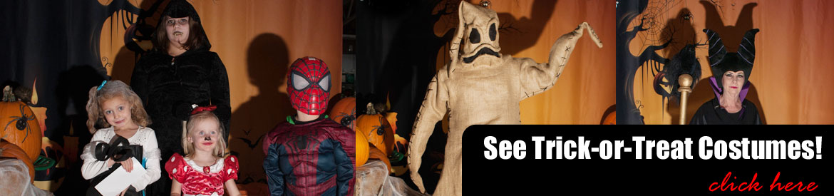 See Smith & Edwards trick or treaters' costumes!