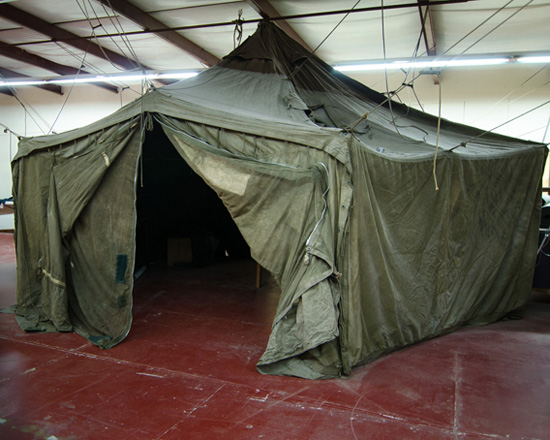 Army Surplus Tents at Smith & Edwards - Ogden, Utah