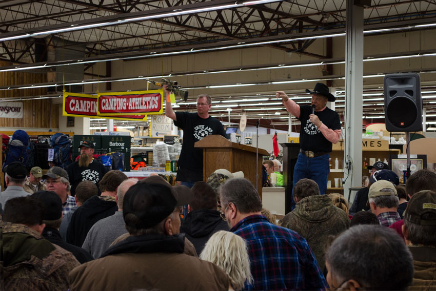 The Smith and Edwards Gun Auction is a MUST-GO!