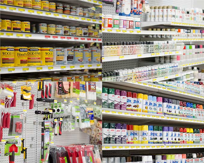 Spray & Craft paints, Wood Stains and paint supplies at Smith & Edwards