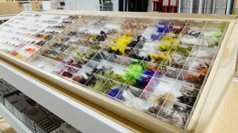 Fly fishing flies at Smith  & Edwards
