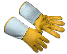 Yellowstone Gloves® Elkskin Form-Fitting Welding Gloves