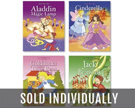 International Greeting Fairy Tale Storybooks - Assorted