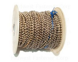 Midwest Fastener® #6 Nickel Ball Chain - Sold per Foot