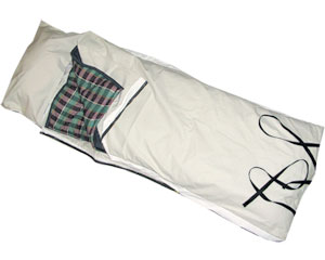 Trail Riding Cowboy Canvas Bed Roll With Pillow Pocket