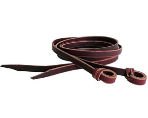 Smith & Edwards Twisted Loop Latigo Reins