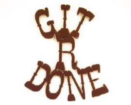 Rustic Ironwerks Git-R-Done Magnet