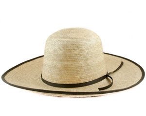 "Sunbody Shapeable Palm Hat - Oak 4"" Brim, 5 1/4"" Crown"