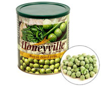 Freeze Dried Vegetable Cans from Honeyville Grain