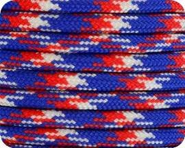 Red White & Blue Camo 550 Paracord - 100 Feet