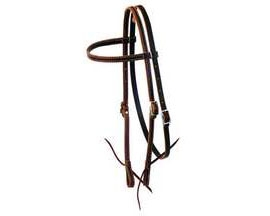 "5/8"" Smith & Edwards Latigo Headstall"