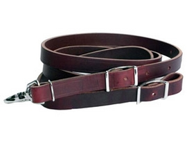 Smith & Edwards Leather Roping Reins - Latigo or Harness