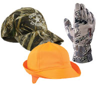 Camo Hats and Gloves
