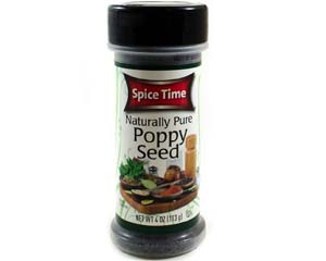 Spice Time Poppy Seed
