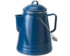 GSI Outdoors Enamelware 36 Cup Coffee Boiler - Blue