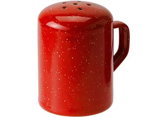 GSI Outdoors Enamelware Pepper Shaker - Red
