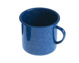 GSI Outdoors Enamelware Cups - Blue