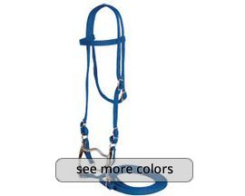 "5/8"" Nylon Horse Browband Bridle"