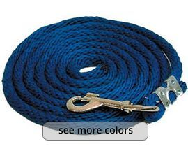 "3/8"" x 8' Lead Rope with Bolt Snap"