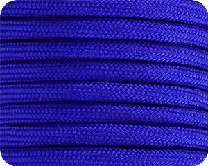 Electric Blue 550 Paracord - 100 Feet