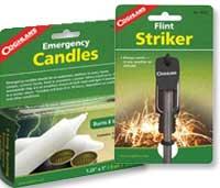 Emergency Candles, Matches, & Glowsticks