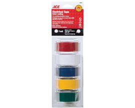 ACE® 5 Pack of Colorful Electrical Tape