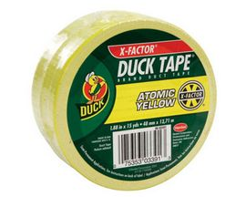 Duck Brand® X-Factor Atomic Yellow Duct Tape