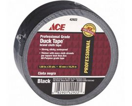 ACE® Black Professional Grade Duck Tape