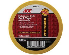 ACE® Yellow Professional Grade Duck Tape