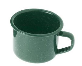 GSI Outdoors Enamelware 4-Ounce Cup - Dark Green