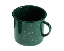 GSI Outdoors Enamelware 12-Ounce Cup - Dark Green