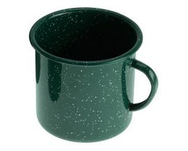 GSI Outdoors Enamelware 24-Ounce Cup - Dark Green