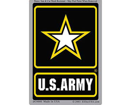 "Eagle Emblems 3"" x 4"" U.S. Army Logo Sticker"