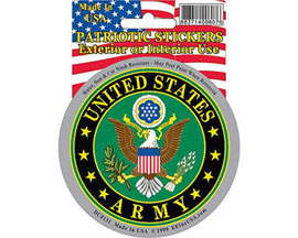 "Eagle Emblems 3-1/4"" U.S. Army Symbol Sticker"